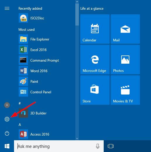open-settings-via-start-menu