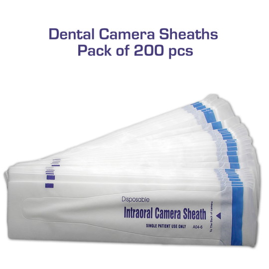 Disposable Intraoral Dental Camera Sheaths 200 pcs