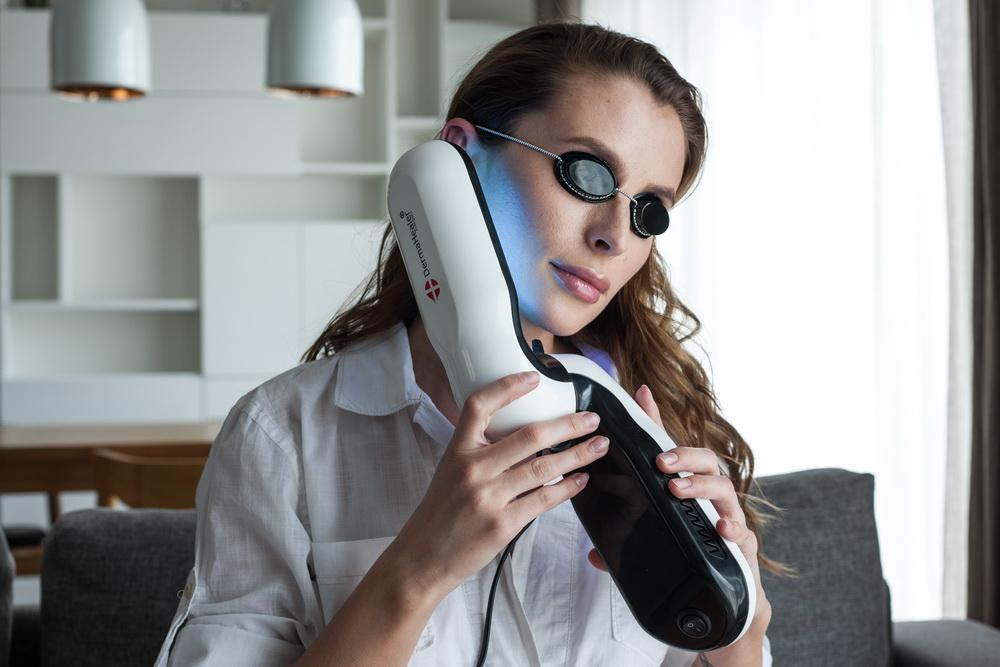 dermahealer uvb narrowband lamp to treat psoriasis vitiligo eczema. Black Bedroom Furniture Sets. Home Design Ideas
