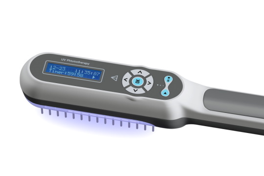 DermaHealer UV-B Phototherapy Lamp for Psoriasis, Vitiligo, Eczema