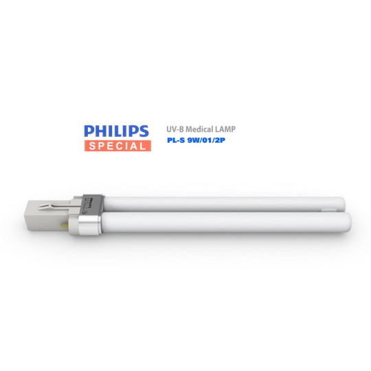 Philips PL-S 9W/01/2P Replacement Bulb for UVB Phototherapy Lamps